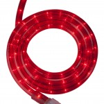 Led rope red 10m
