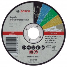Cutting disc 125mm