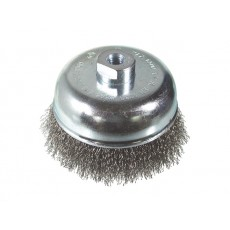 Steel wire cup brush 100mm
